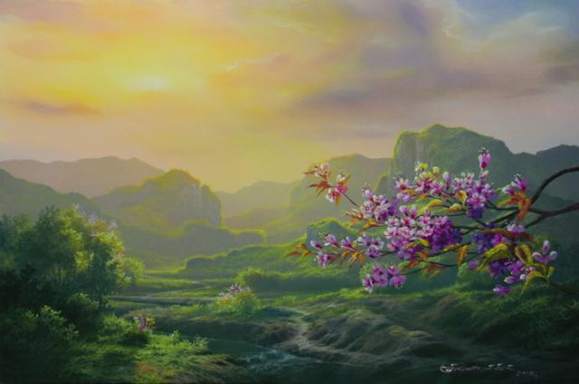 แนบรูป: อิศเรศ วงศ์สิงห์ issared wongsing  acrylic color (1)_resize.jpg